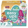 Pampers Easy Ups Training Pants Girls and Boys, Size 4…