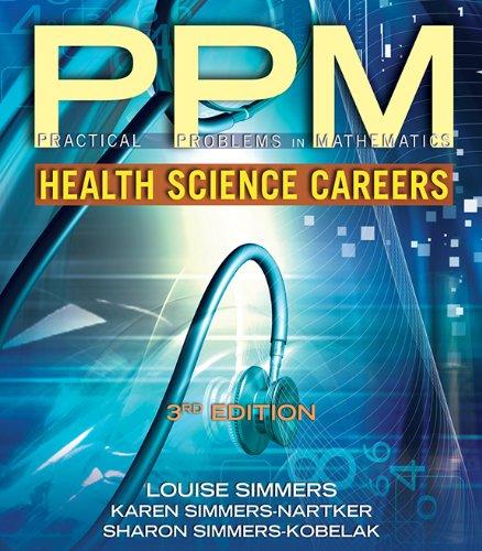 51kbamOttjL - Practical Problems in Math for Health Science Careers (Practical Problems In Mathematics Series)