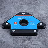WanRomJun 1PCS Arrow Welding Magnet Magnetic Locator Alloy Steel Weld Positioner Accessories MJB1‑M Arrow Welding Magnet