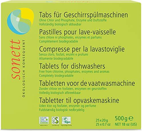 Sonett Bio Tabs f. Geschirrspülmaschine (2 x 500 gr)