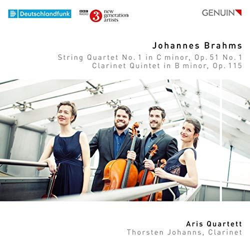 Brahms: Streichquartett in C-Moll / Klarinettenquintett