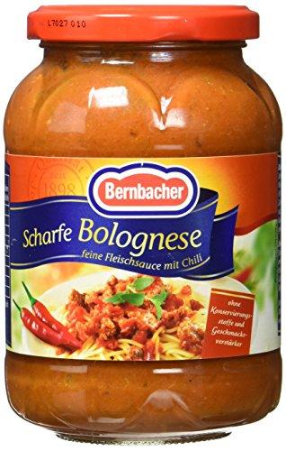 Bernbacher Nudelsauce scharfe Bolognese, 4er Pack (4 x 0.4 kg)