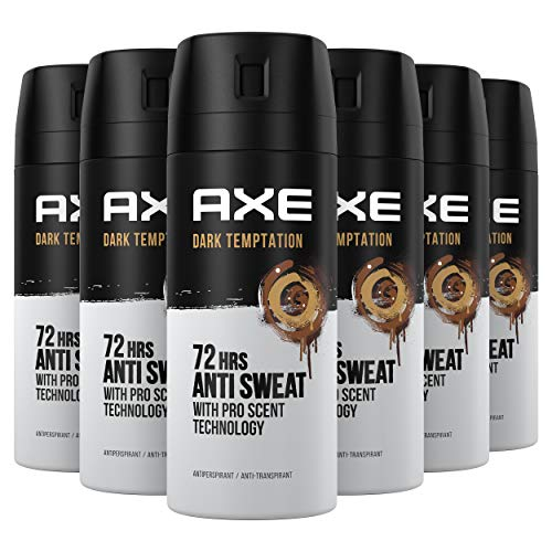 Axe Dark Temptation Rock Desodorante - 150 ml - Pack de 6