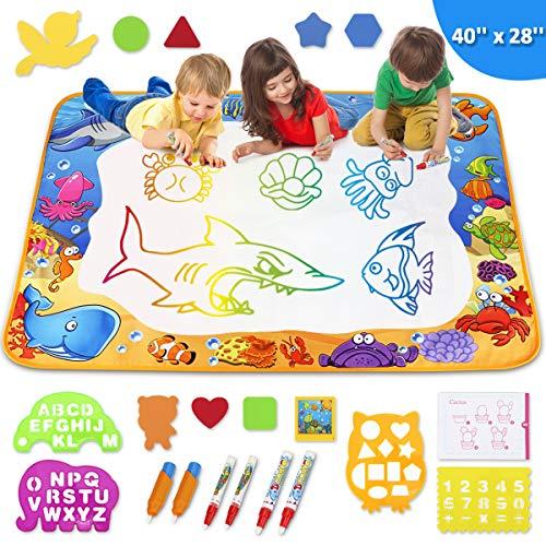 Toyk Aqua Magic Mat - Kids Painting Writing Doodle Board Toy -...