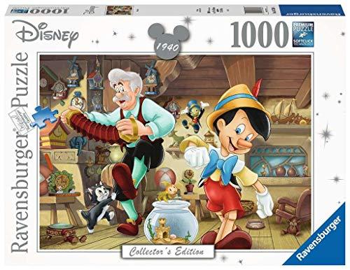RavensburgerDisney Pinocchio 1000 Piece Jigsaw Puzzle for Adults – Every Piece is Unique,...
