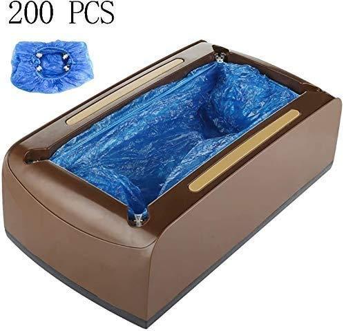 ZLXLX Indoor Schoen Cover Machine Automatische Schoen Cover Dispenser Home Schoen Cover Dispenser Vloerbedekking Wegwerp Apparaat, met 200 Gratis Plastic Schoen Cover BRON