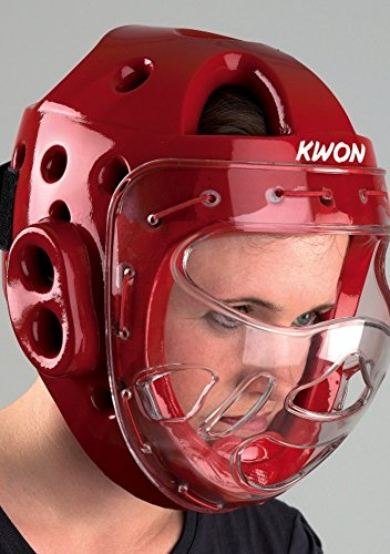 KWON Kopfschutz KSL mit Maske CE M schwarz