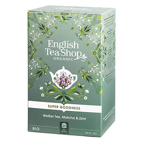 English Tea Shop - Weißer Tee, Matcha & Zimt, BIO, 20 Teebeutel