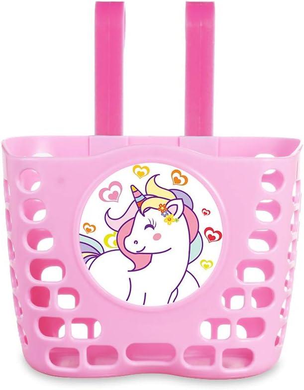 MINI-FACTORY Bike Basket for New item Girls But Cute Princess Crown Pink gift
