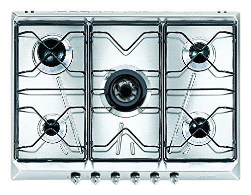 Smeg SRV576-5 Intégré Cuisinière à gaz Acier inoxydable plaque de cuisson
