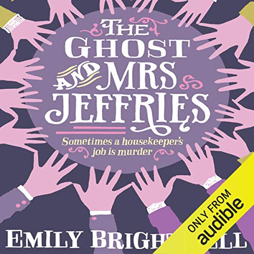 The Ghost and Mrs Jeffries audiobook cover art