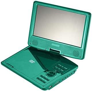 "Proscan PDVD9806-B-TURQUOISE 9"" Swivel Screen Portable DVD / Media Player (Renewed)"