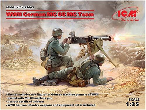 ICM ICM35645 1:35-WWII Alemán MG08 MG Team 2 higos