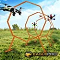 Drone Racing Obstacle Course. Easy to Build Racing Drone Kit. Create Your Own Drone Racing League. Suitable Drone Games for Kid or Adults (Amazon Exclusive)