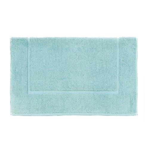 Essix Tapis de bain, Eponge, Azur, 60x60 cm