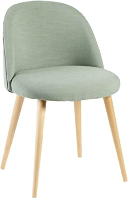 Chair Modern Simple Home Makeup Chair Light Dining Seat Bedroom Leisure Nail Stool JCXOZ Armchair (Color : H)