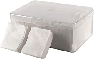Premium Face Cleansing Exfoliating Squares, Disposable Non-woven Facial Pads, 1000 Pieces Per Case