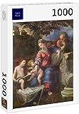 Lais Puzzle Rafael - Sagrada Familia bajo el Roble, con Juan el Bautista 1000 Piezas