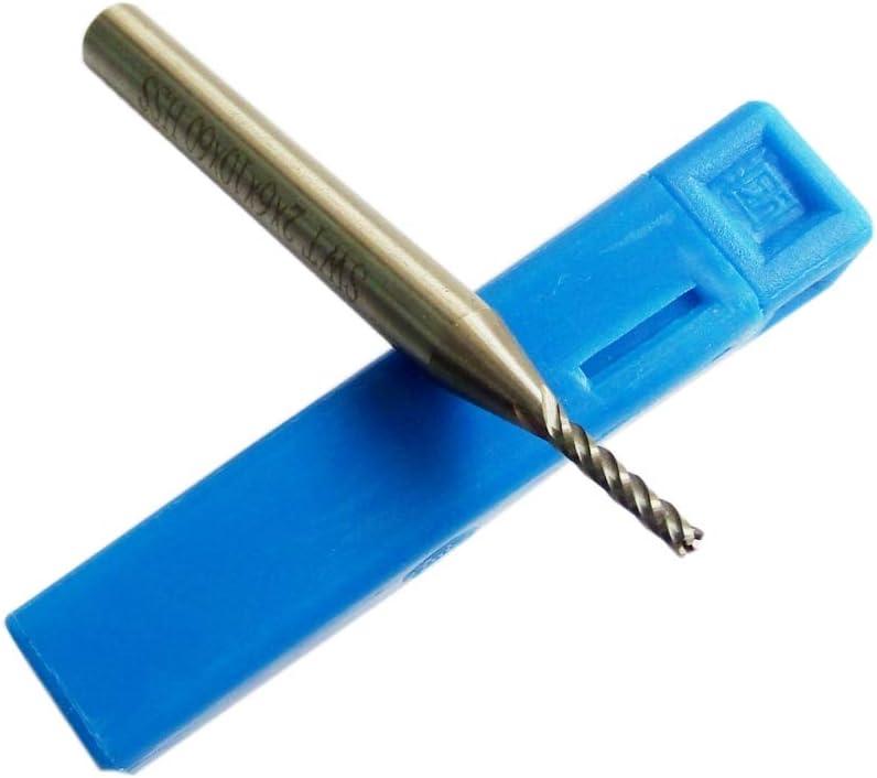 5PCS Extra Long 2mm 4 Flute CNC Mill High order Now free shipping End Aluminium HSS Cutter