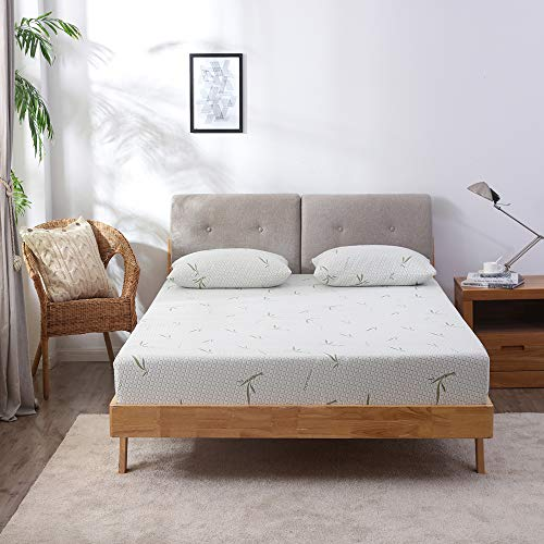 Why Should You Buy MLILY 6'' Dreamer Memory Foam Mattress, Bamboo Cover, Breathable Bed mattress...