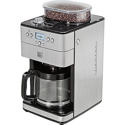 Kenmore Elite Elite 12-Cup Coffee Grinder and Brewer, Stainless Steel