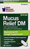 GNP Mucus Relief DM (50 tablets) by Good Neighbor Pharmacy