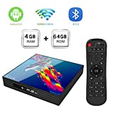 Android TV Box Android 9.0, [4G + 64G] A95X R3 TV Box Bluetooth 4.0,...