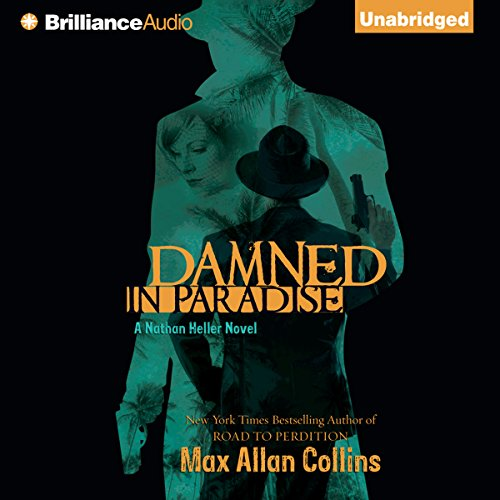 Damned in Paradise audiobook cover art