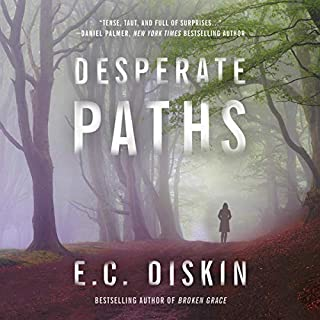 Desperate Paths audiobook cover art