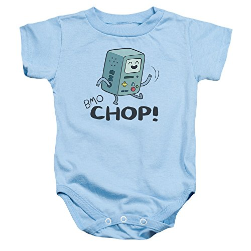 Adventure Time - - Toddler BMO Chop Onesie, 12 Months, Light Blue