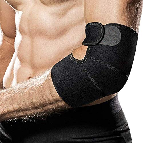 Tennis Elbow Brace, Night Elbow Sleep Support, Comfortable Elbow Splint, Adjustable Stabilizer for Cubital Tunnel Syndrome, Tendonitis, Ulnar Nerve, Tennis, Men, Women