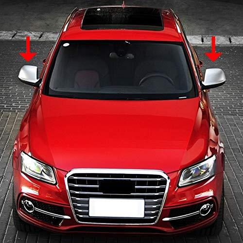 Specchio Esterno Fit For Audi Q5 Q7 2009-2015 2009-2017 Cromo Mate ABS Cap Espejo Retrovisor Shell Cubierta Lateral Vista De La Protección del ala Espejo Cove