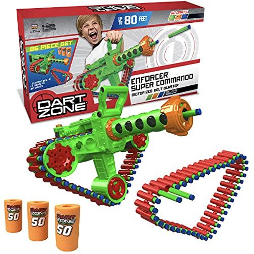 Dart Zone Enforcer Super Commando Toys , Green ,...