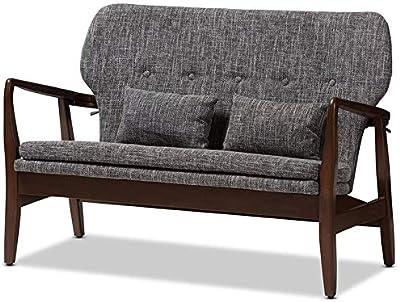 Amazon.com: Krei Hejmo - Sillón de madera de estilo vintage ...