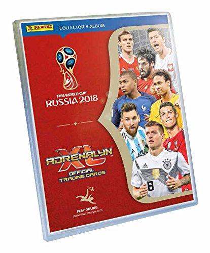 Panini Adrenalyn XL 2018 FIFA World Cup™ - Juego de Cartas coleccionables Oficiales de la Copa del Mundo de la FIFA de 2018