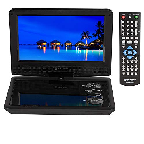 "Great Deal! Region Free Portable DVD Player 9"" Screen with 5 Hour Battery with headrest Mount case..."