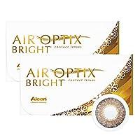 エアオプティクス ブライト&カラーズ ブラウン 【BC】 8.6 【PWR】-5.25 6枚 2箱
