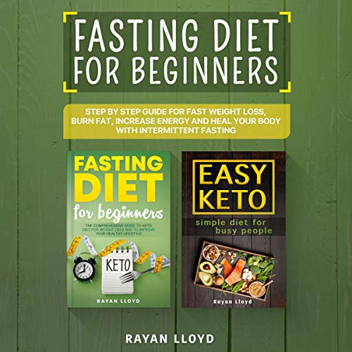 Fasting Diet for Beginners audiobook cover art