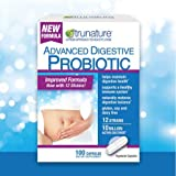 Trunature Digestive Probiotic Capsules, Healthy Immune System 3Pack (100 Count) Available Without a Prescription