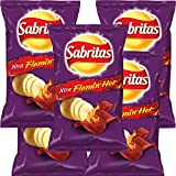 SABRITAS EXTRA FLAMIN HOT CHIPS 45g (Box with 5 bags)