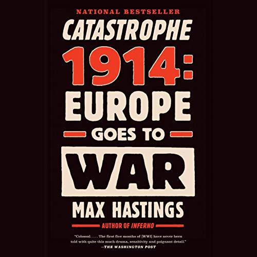 Couverture de Catastrophe 1914