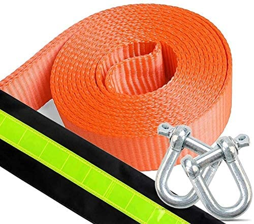 2021 BENGKUI Car Tow Rope Reflects Lowest price challenge Light 5m 5 ï¼ 10 tons