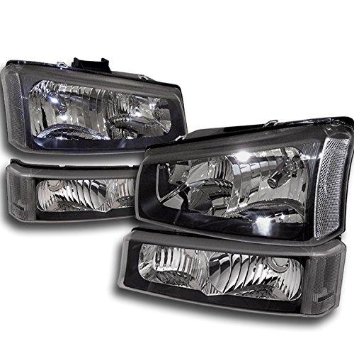 06 silverado black headlights - 5