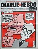 CHARLIE HEBDO [No 180] du 29/11/1995 - ZITRONE PAR GEBE -TOUTE L'EQUIPE DE CHARLIE A SAUTE SUR TOULON -RENAUD CHANTE POUR LES RESISTANTS -CAVANNA REVELE LE VRAI PROGRAMME DU F.N. -LUZ CHEZ LES MAGISTRATS INTEGRISTES -WILLEM / QUAND LE PEN DECOUVRAIT L'ELECTRICITE -SINE PERD UN OEIL