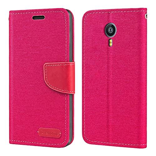 Meizu MX4 Pro Hülle, Oxford Leder Wallet Hülle mit Soft TPU Back Cover Magnet Flip Hülle für Meizu MX4 Pro