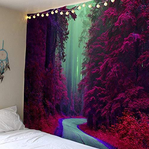 Manglar, tapiz de camino tapiz para colgar en la pared dormitorio decoración de la pared tapiz bohemio revestimiento de paredes fondo tapiz de tela A8 100x150cm