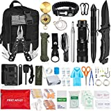 Best Survival Kits - Aokiwo 126Pcs Emergency Survival Kit Professional Survival Gear Review