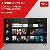 TCL 50EP660 Fernseher 126 cm (50 Zoll) Smart TV (4K UHD, HDR10, Micro Dimming Pro, Android TV, Prime Video, Alexa kompatibel, Google Assistant) Brushed Titanium - 4