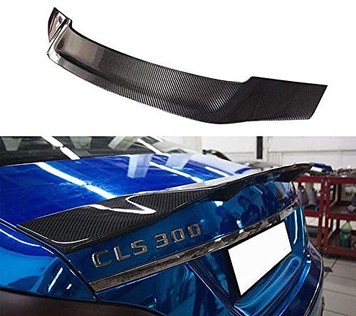 YMSHD Adecuado para Mercedes-para Benz CLS W218, alerón Trasero de Fibra de Carbono para alerón Trasero Cls350 Cls500 R, alerón Trasero de Fibra de Carbono 2011-2015