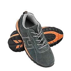 Reis Brneutron44 Sichere Schuhe, Grau-Orange, 44 Größe
